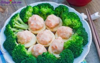 Nấu ăn món ngon mỗi ngày với Tiêu, cách làm tôm hấp kiểu trung hoa 7