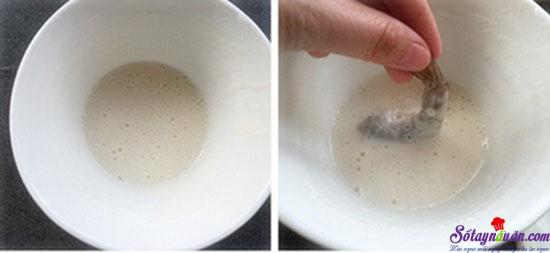 cách làm tôm tẩm vừng chiên giòn  6