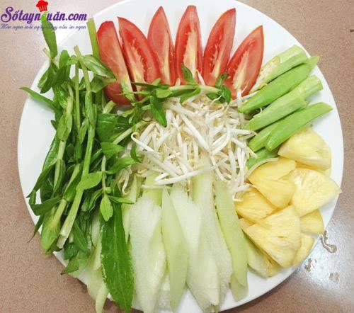 Cách nấu canh chua mực thanh mát bổ dưỡng ngày hè 1