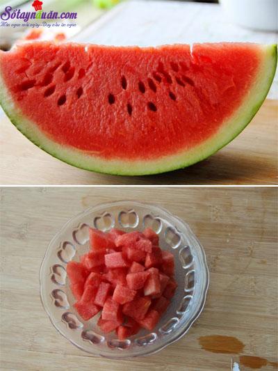 Chè trái cây mát lạnh đã ăn là mê mẩn 3