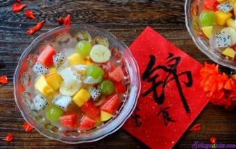 món ăn hà nội, Chè trái cây mát lạnh đã ăn là mê mẩn 5