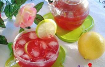 Học pha chế, Công thức cho trà chanh hoa hồng giải nhiệt cực tốt kết quả
