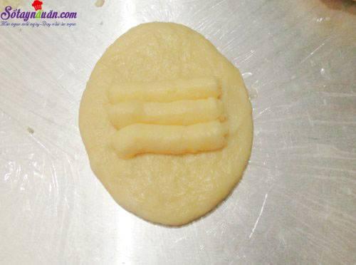 Công thức làm bánh papparoti nhân kem trứng ngon tuyệt 6.2