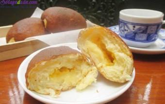 Các món ăn vặt, Công thức làm bánh papparoti nhân kem trứng ngon tuyệt 7.1