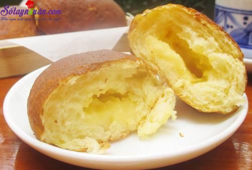 Công thức làm bánh papparoti nhân kem trứng ngon tuyệt 7.3