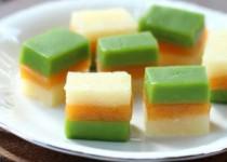 Hướng dẫn làm bánh sắn ba màu thơm ngon,mát lạnh