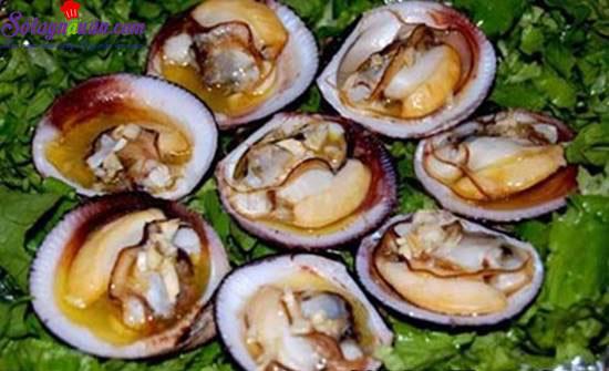 Hướng dẫn làm món nghêu nướng ốc luộc  thơm ngon hấp dẫn 1
