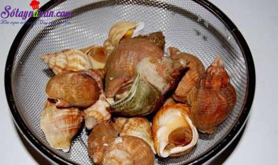 Hướng dẫn làm món nghêu nướng ốc luộc  thơm ngon hấp dẫn  4