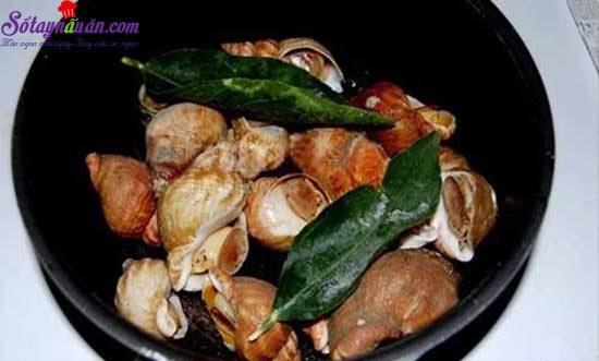 Hướng dẫn làm món nghêu nướng ốc luộc  thơm ngon hấp dẫn  5