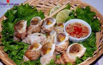 món ăn miền bắc, Hướng dẫn làm món nghêu nướng ốc luộc thơm ngon hấp dẫn 6