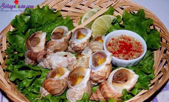 Hướng dẫn làm món nghêu nướng ốc luộc  thơm ngon hấp dẫn  6