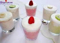 Hướng dẫn làm sinh tố hoa quả kem tươi siêu ngon