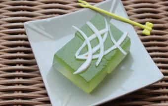 Món thạch, làm-thạch-dừa-lá-dứa-1