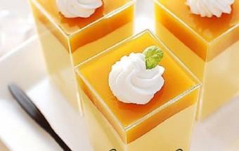 Nấu ăn món ngon mỗi ngày với Bột gelatin, Cách làm mousse xoài 6