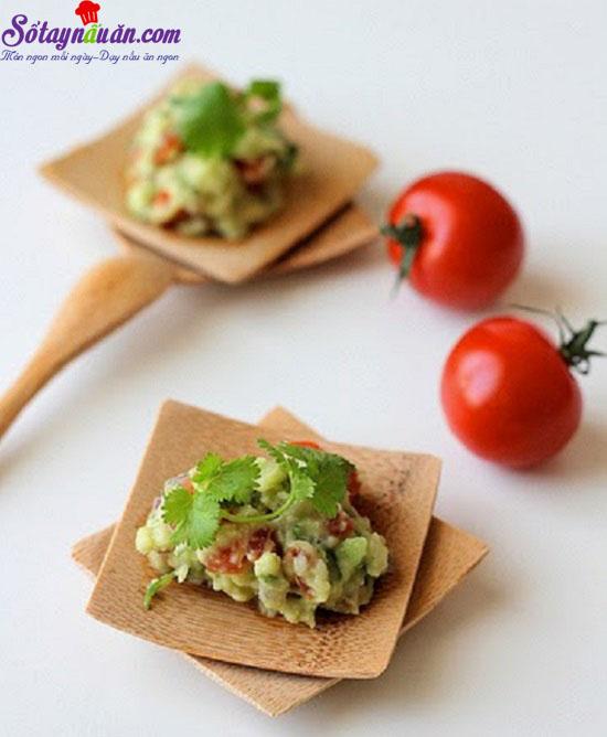 cách làm salad bơ từ Mexico  6