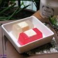 hướng dẫn cách làm sinh tố xoài sữa chua, cách làm thạch phô mai 9