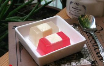 món ăn vỉa hè, cách làm thạch phô mai 9