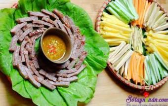 Nấu ăn món ngon mỗi ngày với Thịt bò thăn, Cách làm bò cuốn lá cải ngon đến mê mẩn kết quả