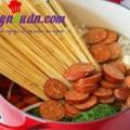 my spaghetti ngao, Bí kíp nấu mì ý siêu tốc cho ngày bận rộn