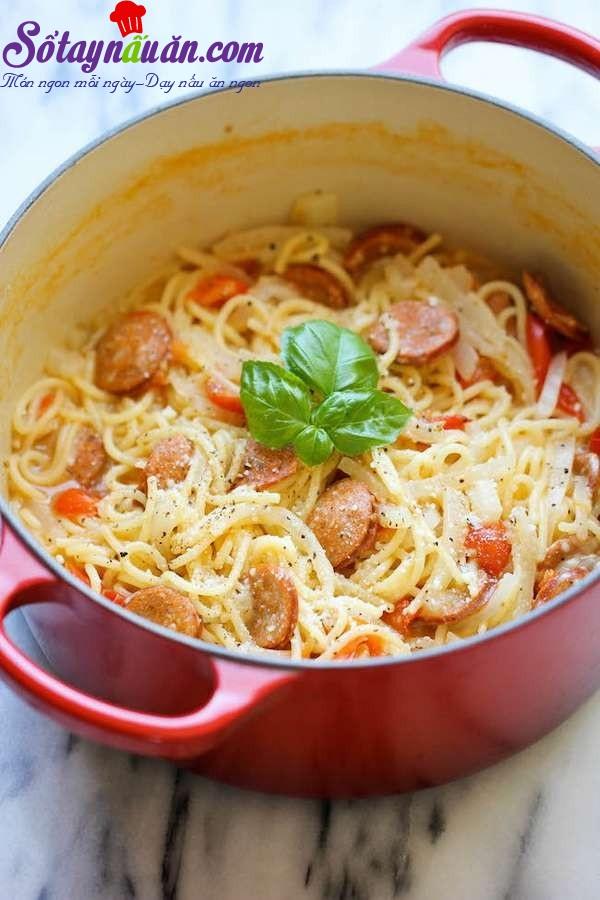 Bí kíp nấu mì ý siêu tốc cho ngày bận rộn