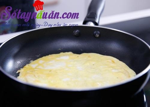 Học làm trứng cuộn nấm, măng tây ngon ngất ngây
