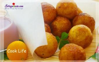 Nấu ăn món ngon mỗi ngày với Bột gạo tẻ, cách làm bánh khoai lang nhân phô mai 7
