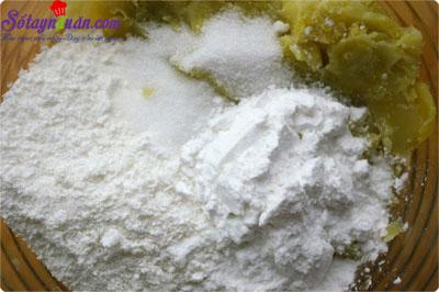 cách làm bánh khoai lang nhân phô mai  2
