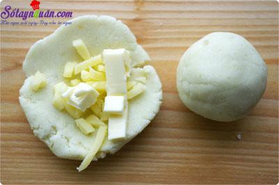 cách làm bánh khoai lang nhân phô mai  4