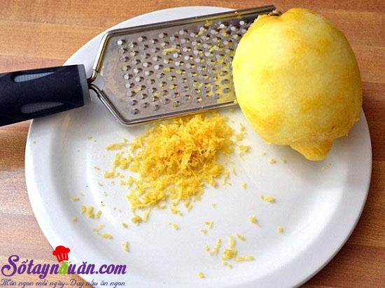cách làm bánh chanh 1