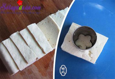 Cách làm đậu phụ chiên trứng cút kèm xốt ngon tuyệt hảo 1