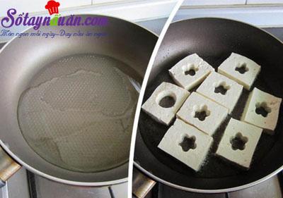 Cách làm đậu phụ chiên trứng cút kèm xốt ngon tuyệt hảo 3