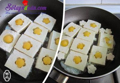 Cách làm đậu phụ chiên trứng cút kèm xốt ngon tuyệt hảo 4