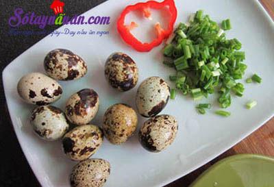 Cách làm đậu phụ chiên trứng cút kèm xốt ngon tuyệt hảo nguyên liệu