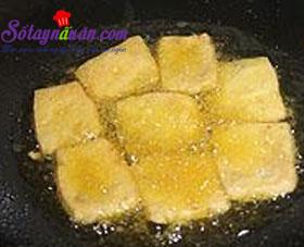 Cách làm đậu phụ sốt vừng xiên que cực thơm ngon 5