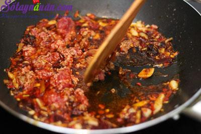 Cách làm đậu phụ Tứ Xuyên nổi tiếng cực kì đơn giản 3