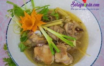Món ăn Tết, Cách làm gà hầm sả quyến rũ cả nhà kết quả