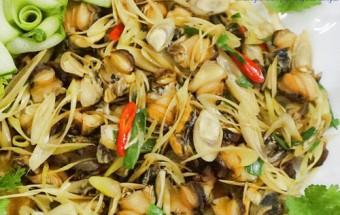 Nấu ăn món ngon mỗi ngày với Ớt, Cách làm ốc xào sả ớt cực thơm và cực giòn kết quả