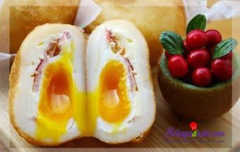 Nấu ăn món ngon mỗi ngày với Phô mai, Công thức cho khoai tây bọc trứng béo ngậy thơm ngon kết quả