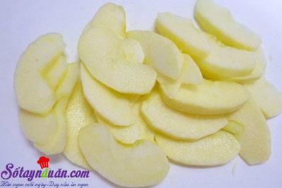 Hướng dẫn làm bánh táo úp ngược bằng nồi cơm điện  1