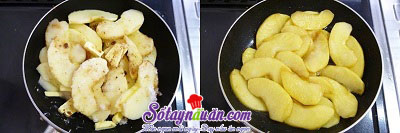 Hướng dẫn làm bánh táo úp ngược bằng nồi cơm điện  2