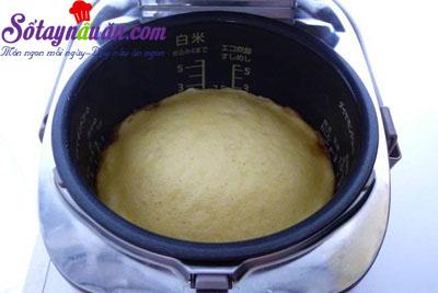 Hướng dẫn làm bánh táo úp ngược bằng nồi cơm điện  5