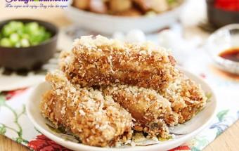 Nấu ăn món ngon mỗi ngày với Sườn, Hướng dẫn món sườn chiên tỏi tẩm bột giòn ngon ngất ngây kết quả