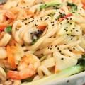 Cách làm món mực xốt chua cay cho bữa cơm thêm ngon miệng, cách làm món mì xào hải sản kiểu Hàn Quốc 12