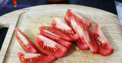 Nấm nhồi thịt sốt cà 5