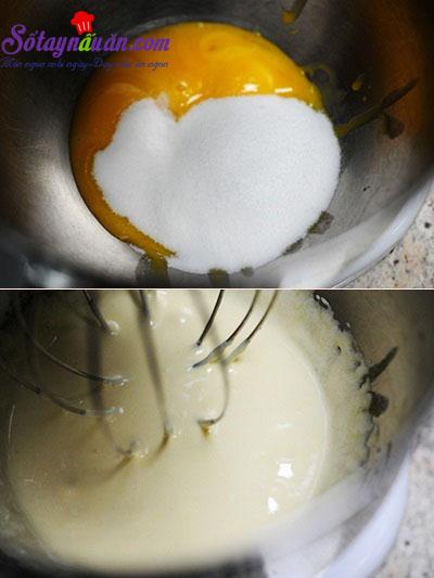 Cách làm bánh bông lan sữa mềm ngon ngây ngất 3