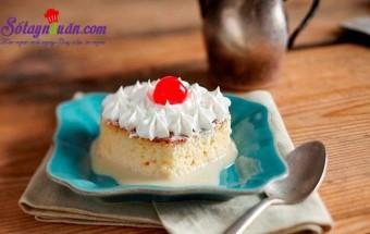 Nấu ăn món ngon mỗi ngày với Sữa tươi, Cách làm bánh bông lan sữa mềm ngon ngây ngất kết quả