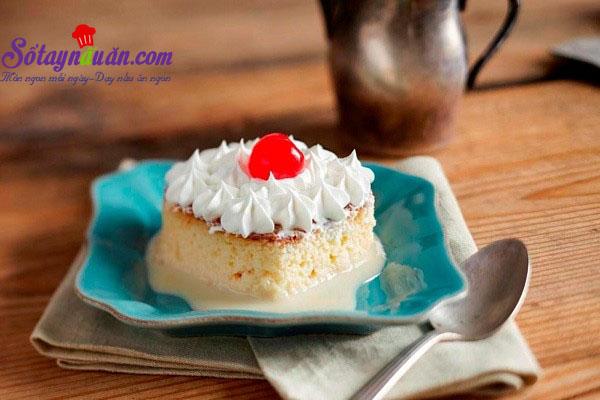 Cách làm bánh bông lan sữa mềm ngon ngây ngất kết quả