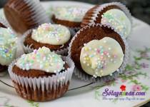 Cách làm bánh brownie cực ngon và xinh xắn