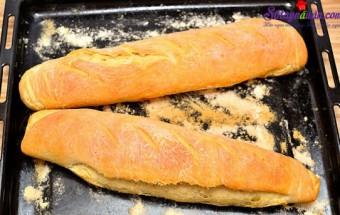Nấu ăn món ngon mỗi ngày với Bột bắp, cách làm bánh mì nước pháp 19