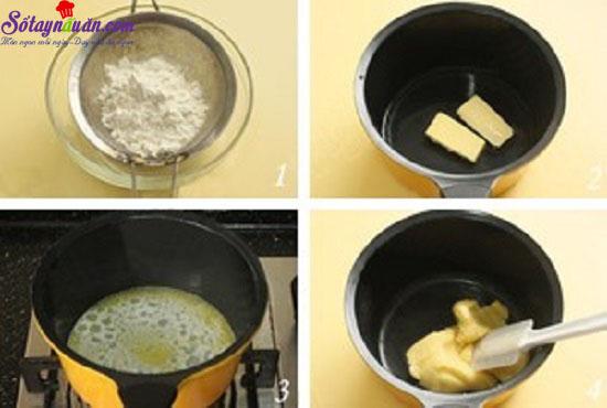 cách làm bánh su kem hình thiên nga 1
